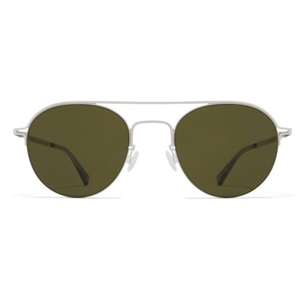 Mykita - MMCRAFT015 - Mykita & Maison Margiela - Silver Green - Metal Collection - Sunglasses - Mykita Eyewear