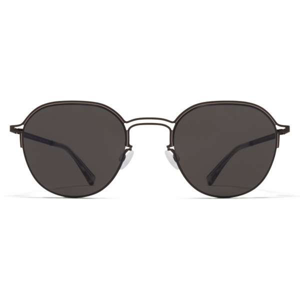 Mykita - MMCRAFT016 - Mykita & Maison Margiela - Nero Grigio Scuro - Metal Collection - Occhiali da Sole - Mykita Eyewear