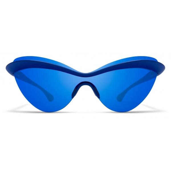Mykita - MMECHO001 - Mykita & Maison Margiela - Blue - Mylon Collection - Sunglasses - Mykita Eyewear
