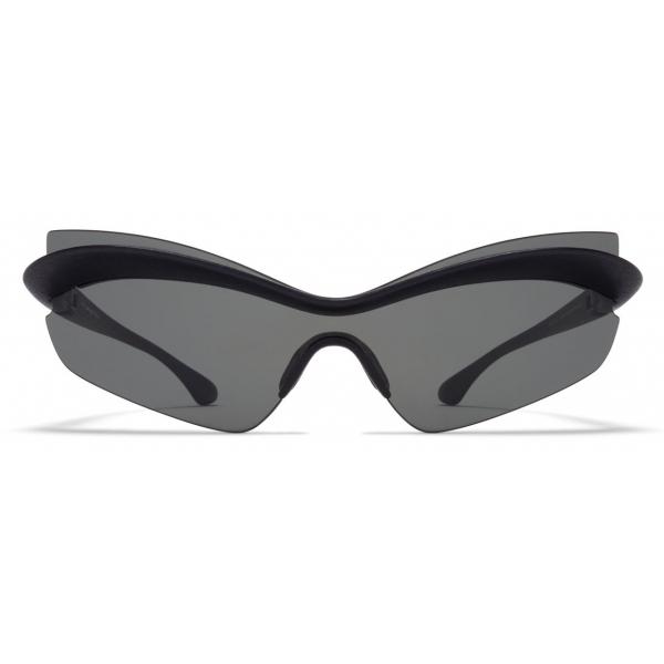 Mykita - MMECHO004 - Mykita & Maison Margiela - Black Dark Grey - Mylon Collection - Sunglasses - Mykita Eyewear