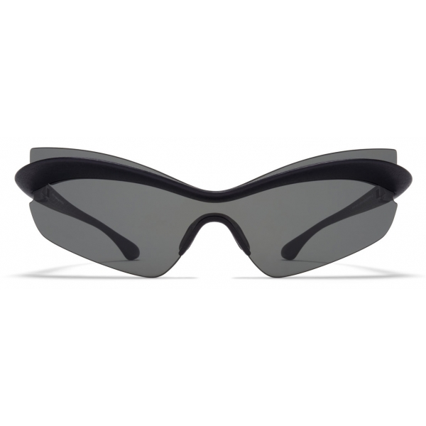 Mykita - MMECHO004 - Mykita & Maison Margiela - Nero Grigio Scuro - Mylon Collection - Occhiali da Sole - Mykita Eyewear