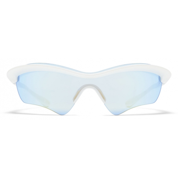 Mykita - MMECHO005 - Mykita & Maison Margiela - Bianco - Mylon Collection - Occhiali da Sole - Mykita Eyewear