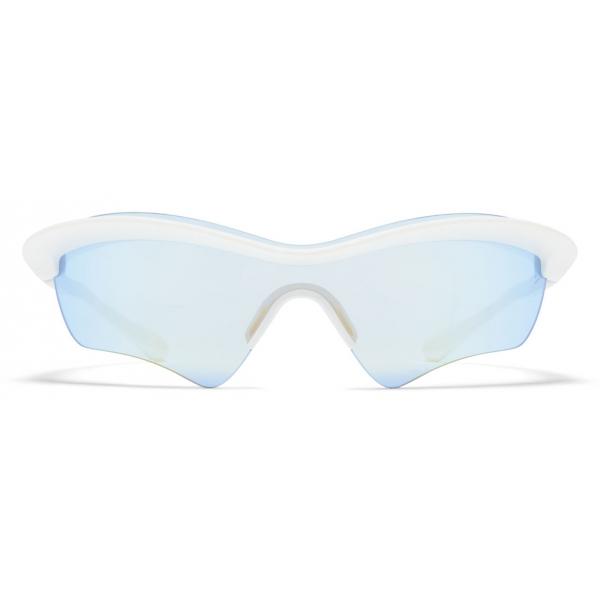 Mykita - MMECHO005 - Mykita & Maison Margiela - White - Mylon Collection - Sunglasses - Mykita Eyewear