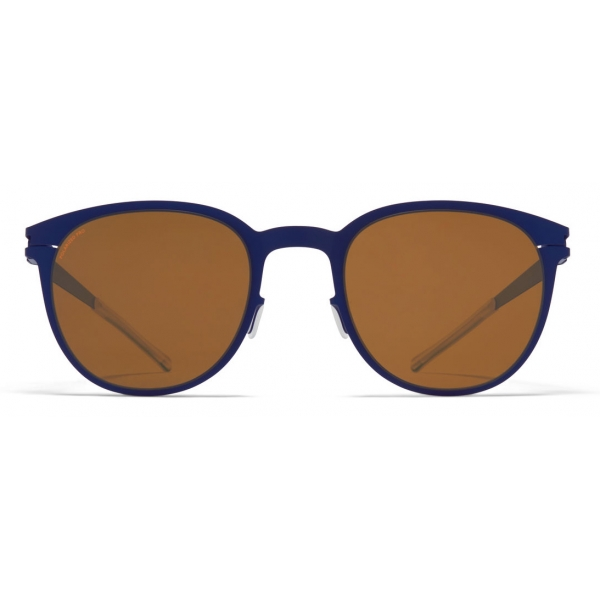 Mykita - Truman - NO1 - Blu Ambra Marrone - Metal Collection - Occhiali da Sole - Mykita Eyewear