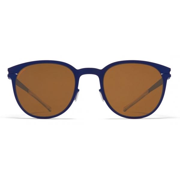 Mykita - Truman - NO1 - Blue Amber Brown - Metal Collection - Sunglasses - Mykita Eyewear