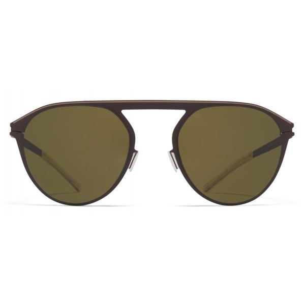 Mykita - Paulin - NO1 - Dark Brown Green - Metal Collection - Sunglasses - Mykita Eyewear
