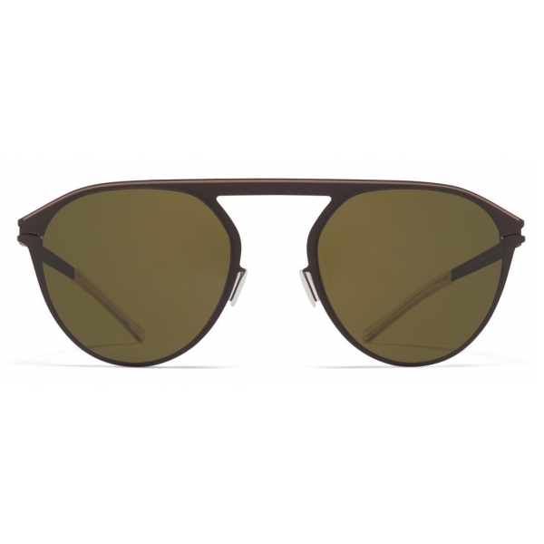 Mykita - Paulin - NO1 - Marrone Scuro Verde - Metal Collection - Occhiali da Sole - Mykita Eyewear