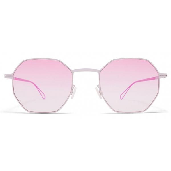 Mykita - Walsh - Mykita & Bernhard Willhelm - Chrome Lilac Pink - Metal Collection - Sunglasses - Mykita Eyewear