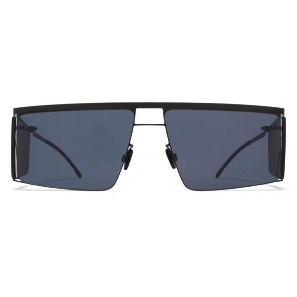 Mykita - HL001 - Mykita & Helmut Lang - Black Dark Grey - Metal Collection - Sunglasses - Mykita Eyewear