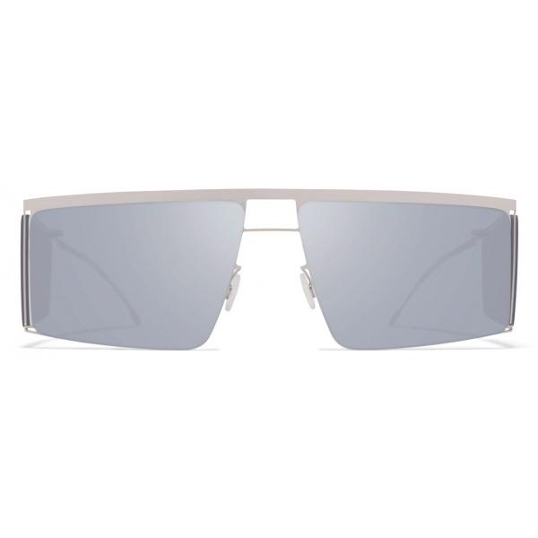 Mykita - HL001 - Mykita & Helmut Lang - Silver Grey - Metal Collection - Sunglasses - Mykita Eyewear