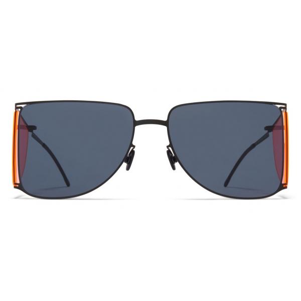 Mykita - HL002 - Mykita & Helmut Lang - Black Pink Dark Grey - Metal Collection - Sunglasses - Mykita Eyewear