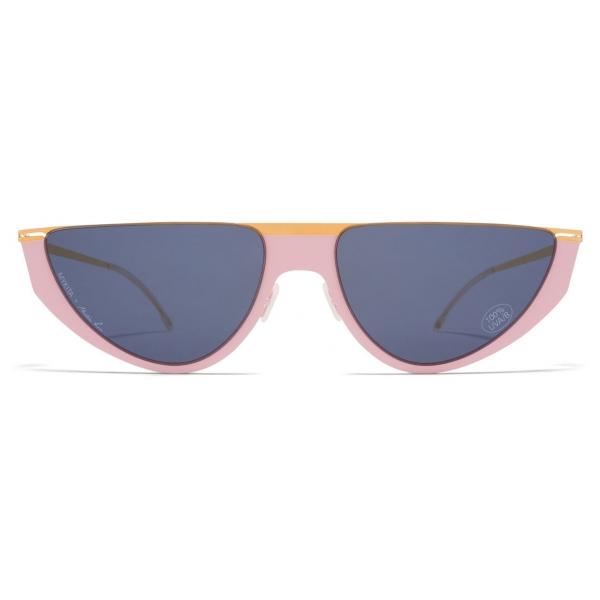 Mykita - Selina - Mykita & Martine Rose - Gold Rose Dark Grey - Metal Collection - Sunglasses - Mykita Eyewear