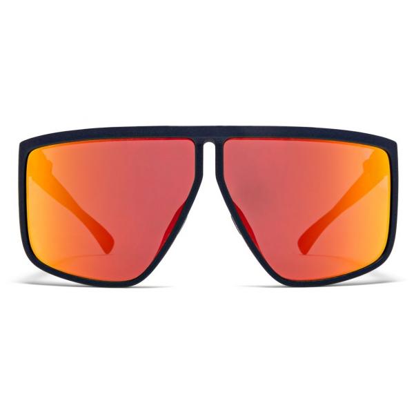 Mykita - Tequila - Mykita & Tim Coppens - Navy Blue Orange - Mylon Collection - Sunglasses - Mykita Eyewear