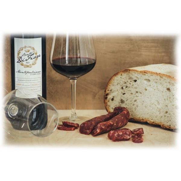 Bontà di Fiore - Salsiccia al Montepulciano Stagionata - 300 g