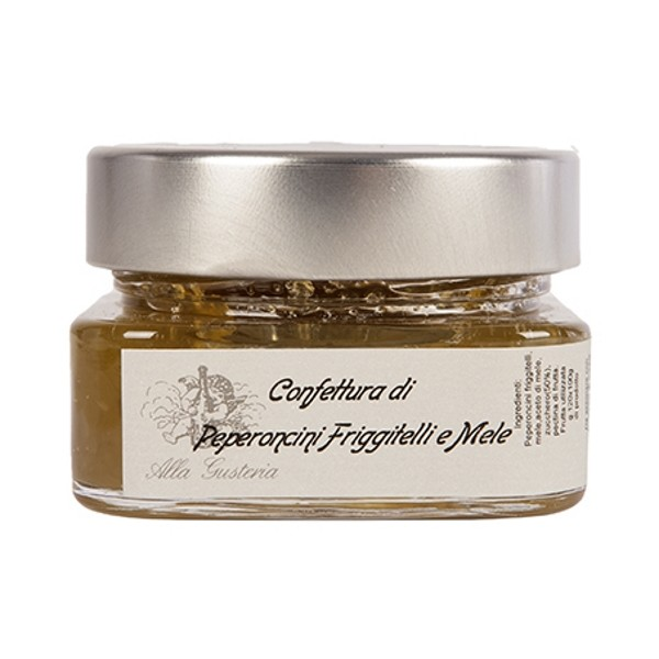Alla Gusteria - Osteria de Ciotti - Nunquam - Chiles Friggitelli and Apples Jam