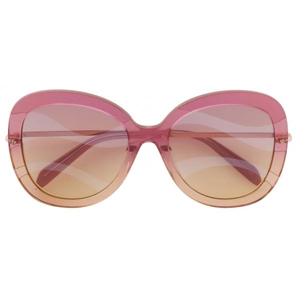 Emilio Pucci - Occhiali da Sole a Farfalla - Rosa - Occhiali da Sole - Emilio Pucci Eyewear