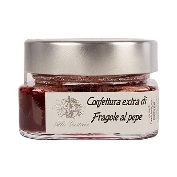 Alla Gusteria - Osteria de Ciotti - Nunquam - Confettura di Fragole al Pepe