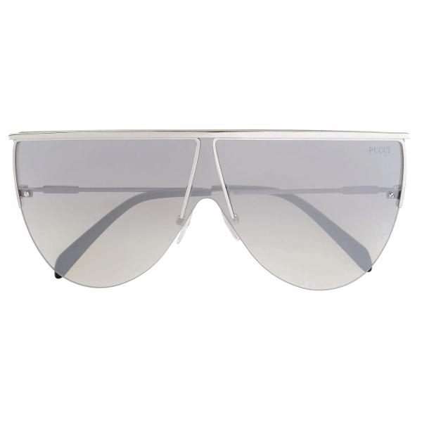 Emilio Pucci - Occhiali da Sole Geometrici - Nero - Occhiali da Sole - Emilio Pucci Eyewear