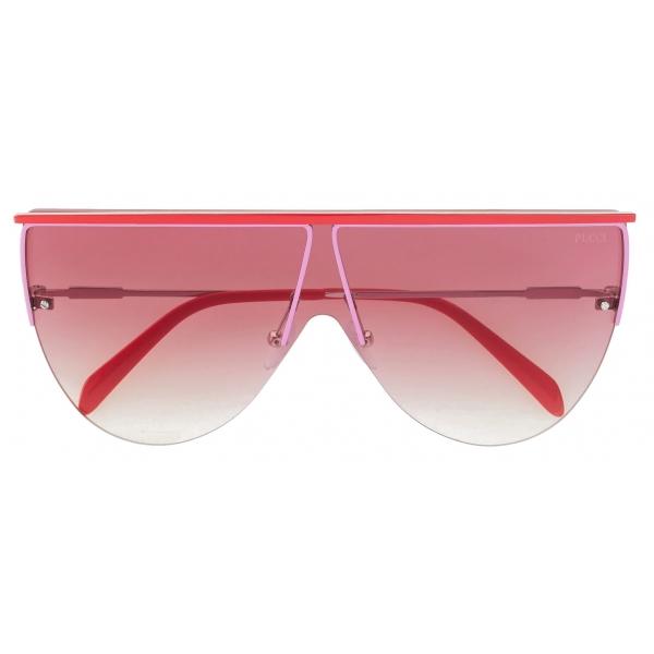 Emilio Pucci - Occhiali da Sole Geometrici - Rosa - Occhiali da Sole - Emilio Pucci Eyewear