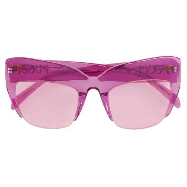 Emilio Pucci - Occhiali da Sole Oversize - Rosa - Occhiali da Sole - Emilio Pucci Eyewear