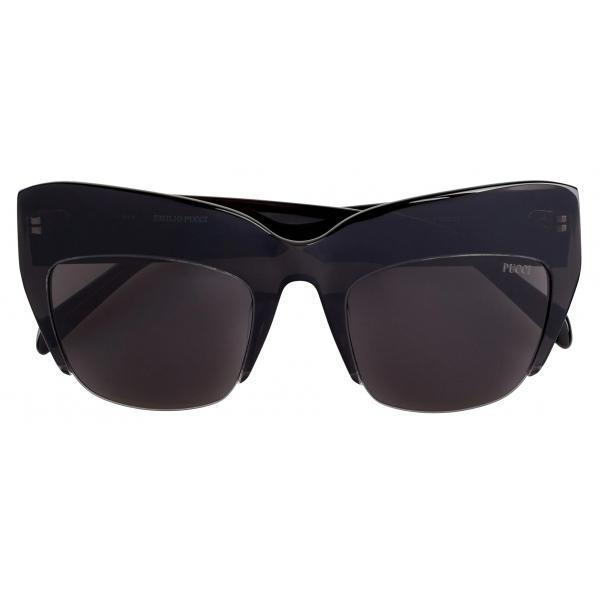 Emilio Pucci - Occhiali da Sole Oversize - Nero - Occhiali da Sole - Emilio Pucci Eyewear