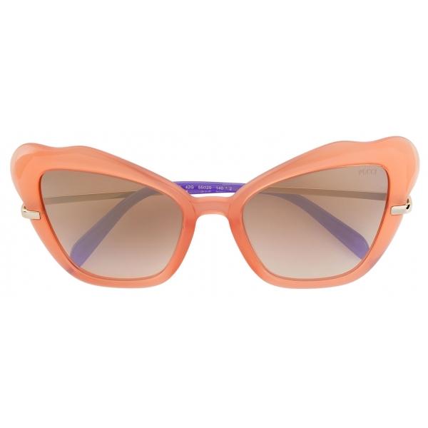 Emilio Pucci - Occhiali da Sole a Farfalla - Arancione - Occhiali da Sole - Emilio Pucci Eyewear