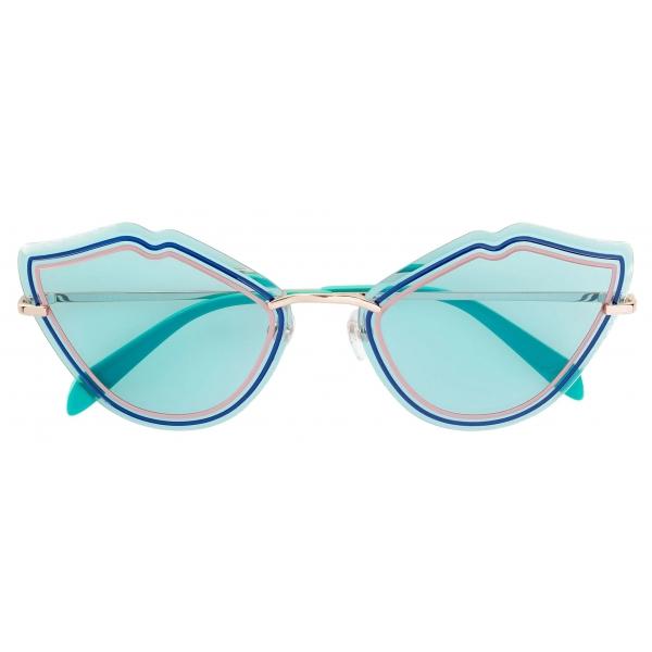 Emilio Pucci - Occhiali da Sole Cat-Eye - Blu - Occhiali da Sole - Emilio Pucci Eyewear