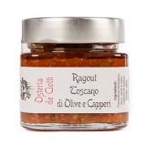 Alla Gusteria - Osteria de Ciotti - Nunquam - Ragout Toscano di Olive e Capperi - 200 g