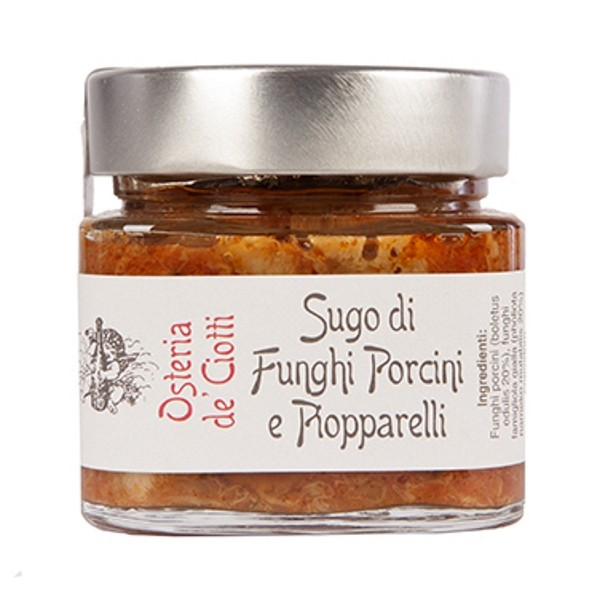 Alla Gusteria - Osteria de Ciotti - Nunquam - Porcini Sauce and Piopparelli - 200 g
