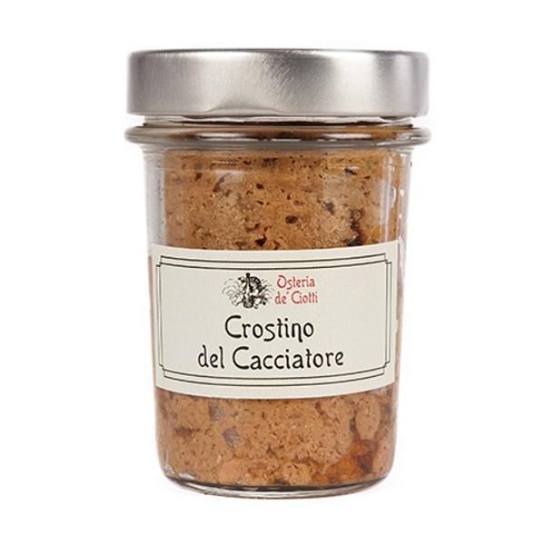 Alla Gusteria - Osteria de Ciotti - Nunquam - Crostino del Cacciatore - 180 g