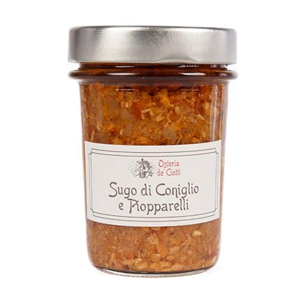 Alla Gusteria - Osteria de Ciotti - Nunquam - Sugo di Coniglio e Piopparelli - 180 g