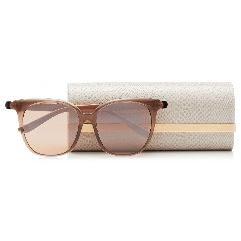 Nude New Wave 232 Betty 63mm Square Acetate Sunglasses