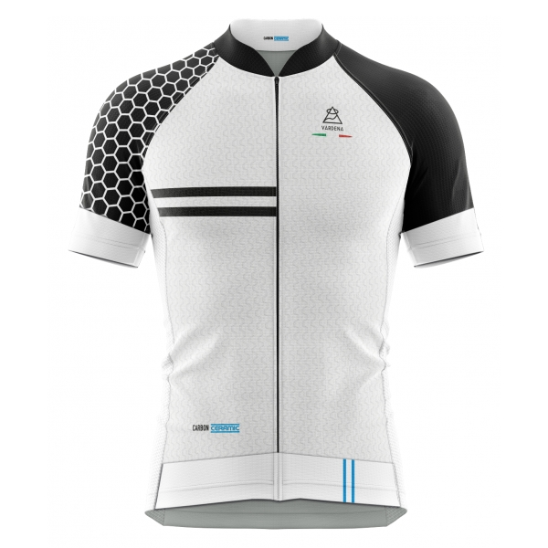 Vardena - Honey Line - White - Carbon Ceramic Jersey - New Collection - Made in Italy - Luxury High Quality