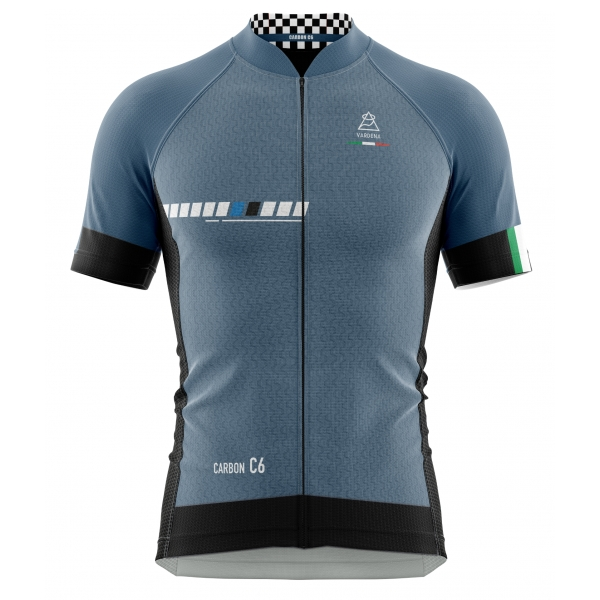 Vardena - Deep Space - Full Carbon Jersey - New Collection - Made in Italy - Luxury High Quality