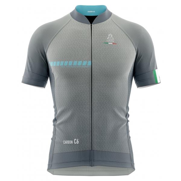 Vardena - Argento Blu - Full Carbon Jersey - Nuova Collezione - Made in Italy - Alta Qualità Luxury