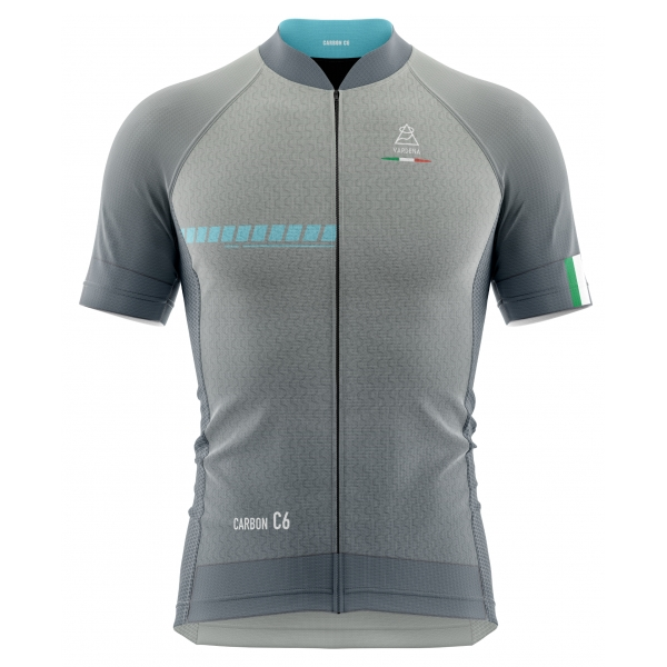 Vardena - Sylver Blu - Full Carbon Jersey - New Collection - Made in Italy - Luxury High Quality