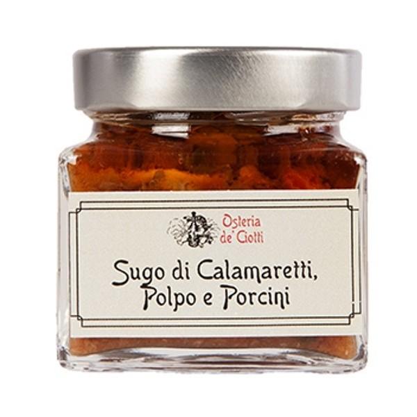 Alla Gusteria - Osteria de Ciotti - Nunquam - Sugo di Calamaretti, Polpo e Porcini - 200 g