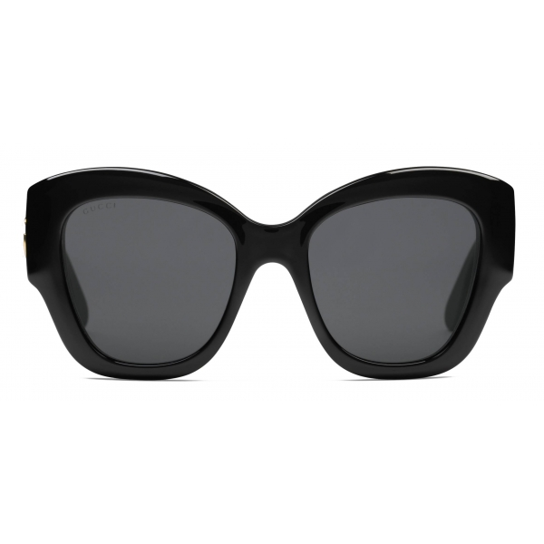 Gucci - Cat Eye Sunglasses - Black Grey - Gucci Eyewear