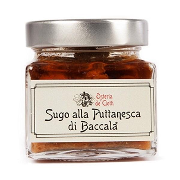 Alla Gusteria - Osteria de Ciotti - Nunquam - Sugo alla Puttanesca di Baccalà - 200 g