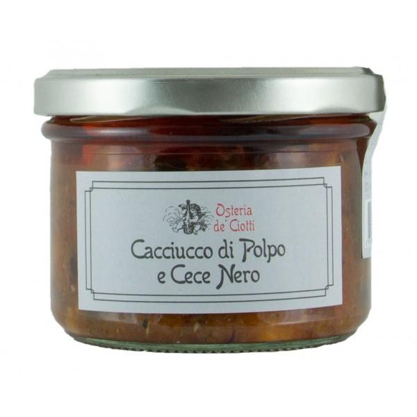 Alla Gusteria - Osteria de Ciotti - Nunquam - Cacciucco di Polpo e Cece Nero - 200 g