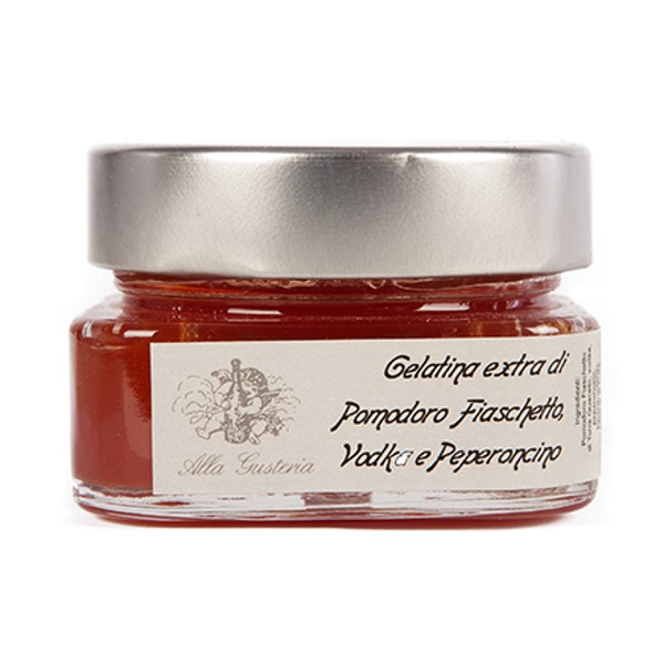 Alla Gusteria - Osteria de Ciotti - Nunquam - Gelatina di Pomodoro, Vodka e Peperoncino - 140 g