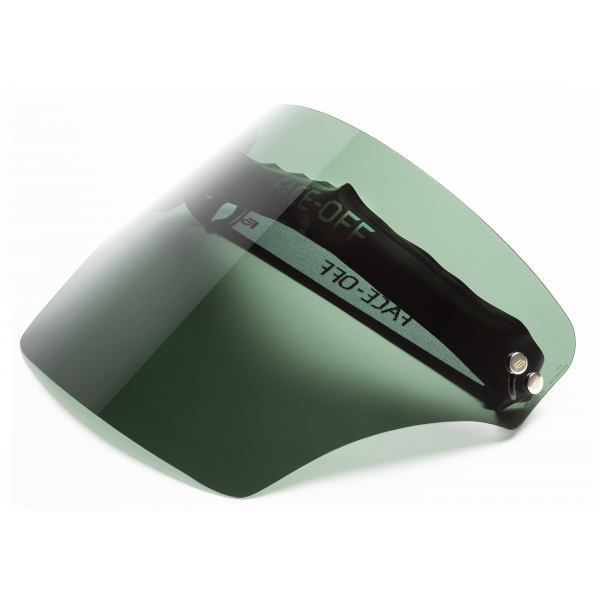 Face Off - Visiera Polarizzata - Oasi Verde - Fashion Luxury - Face Off Eyewear - Maschera Protezione Covid
