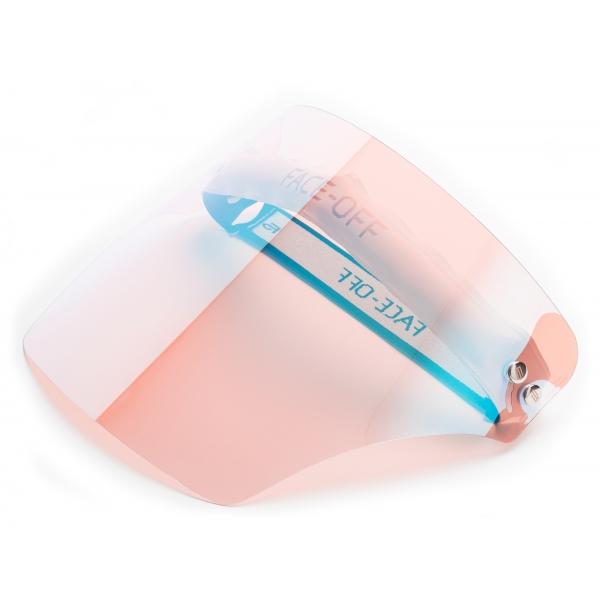 Face Off - Photochromic Visor - Sea Pink - Fashion Luxury - Face Off Eyewear - Covid Protection Mask