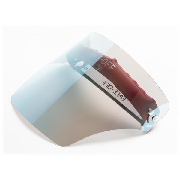 Face Off - Visiera Polarizzata - Rutenio Nobile - Fashion Luxury - Face Off Eyewear - Maschera Protezione Covid
