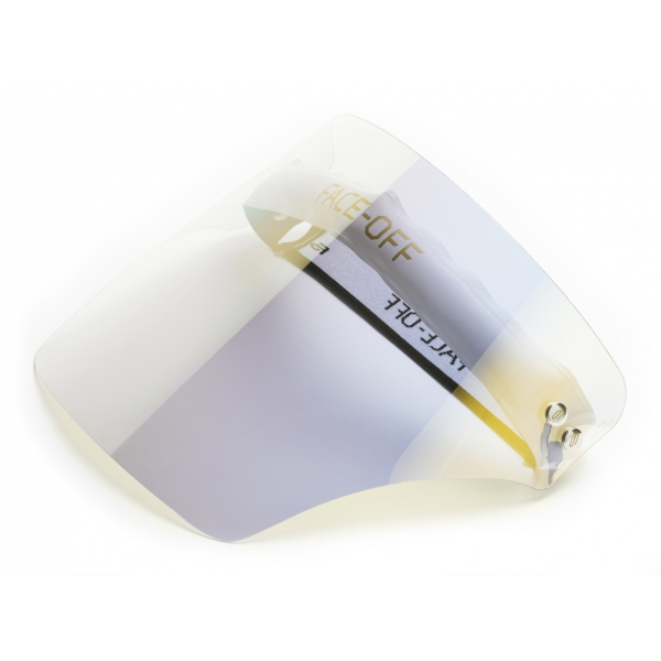 Face Off - Visiera Fotocromatica - Oro Luce - Fashion Luxury - Face Off Eyewear - Maschera Protezione Covid