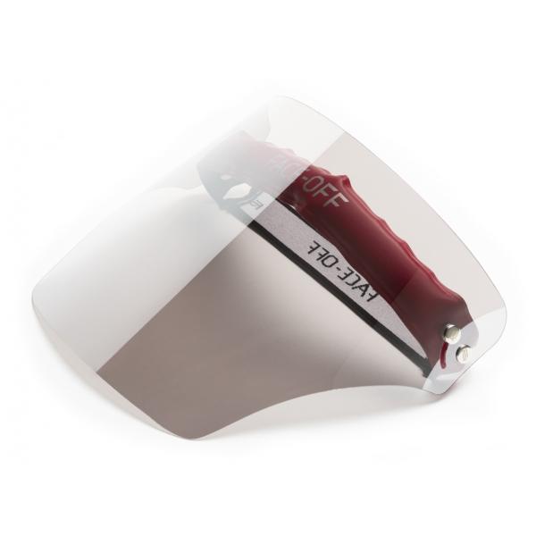 Face Off - Photochromic Visor - Silver Moon - Fashion Luxury - Face Off Eyewear - Covid Protection Mask