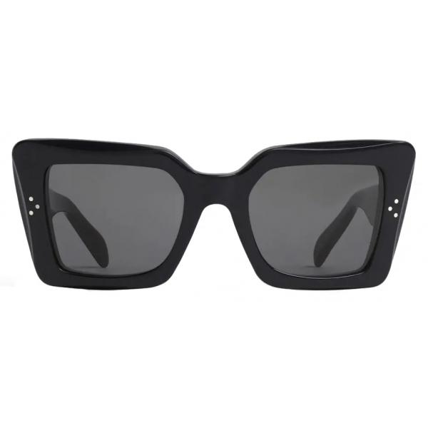 Céline - Occhiali da Sole Squadrati S156 in Acetato - Nero - Occhiali da Sole - Céline Eyewear