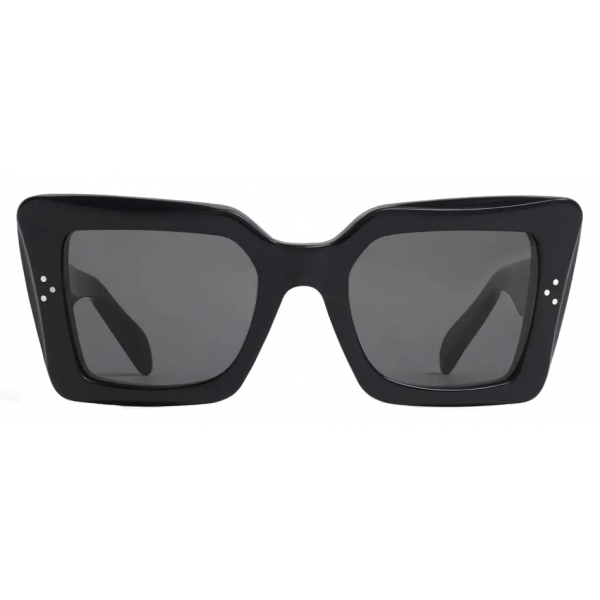 Céline - Square S156 Sunglasses in Acetate - Black - Sunglasses - Céline Eyewear