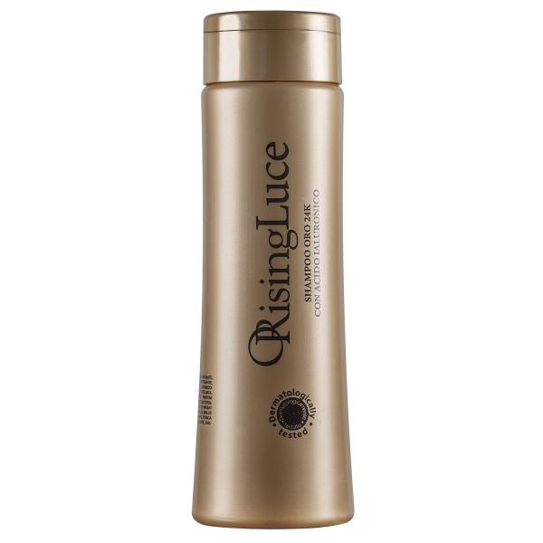 ORising Beauty - 24k Gold Shampoo with Hyaluronic Acid - ORising Luce - Gold - Professional Luxury