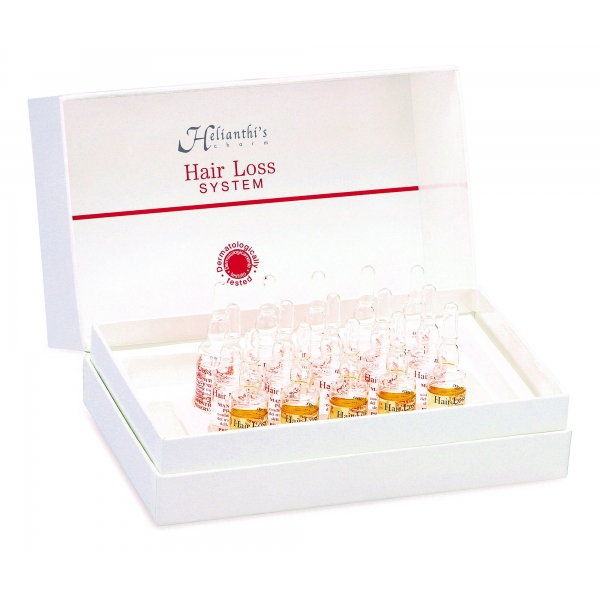 ORising Beauty - Helianthi's Charm Hair Loss System Strong Treatment Box - Gold - Professional Luxury